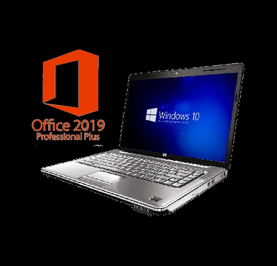 A4ノートパソコン/Windows10搭載 / Core i5 / MicroSoft Office 2019pro付き    パソコンレンタル