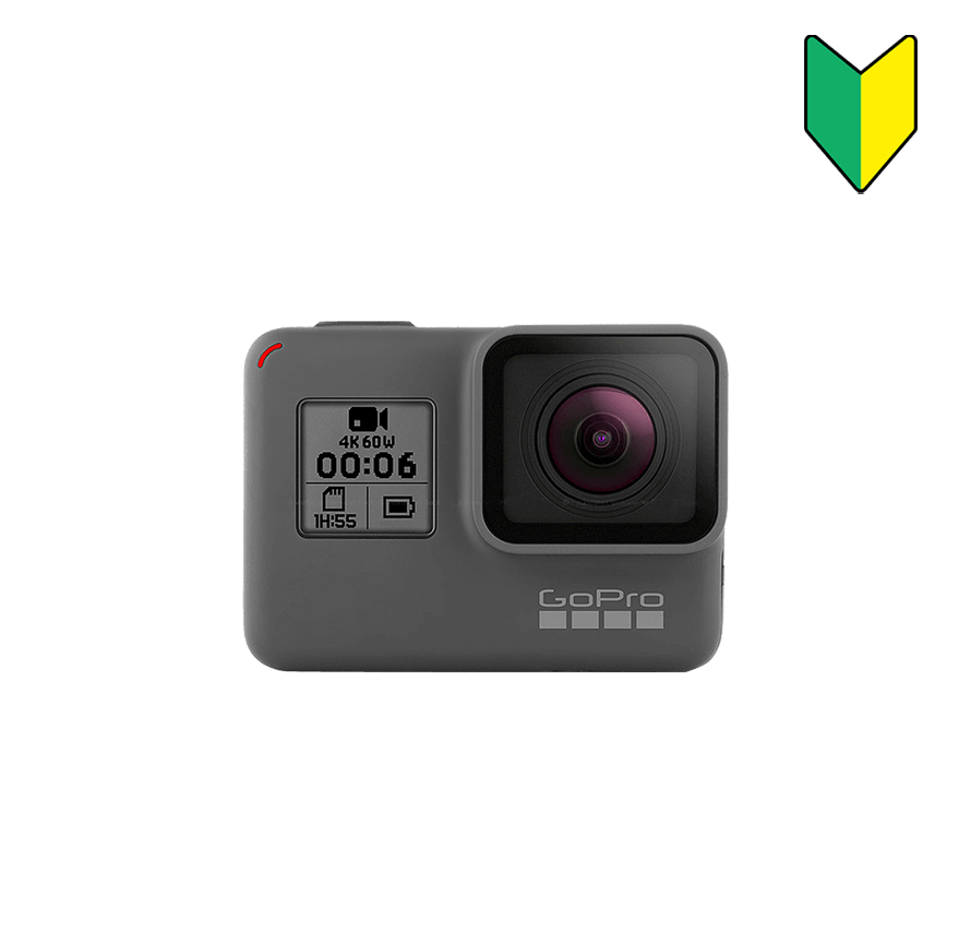 GoPro HERO6 Black 初心者セット レンタル