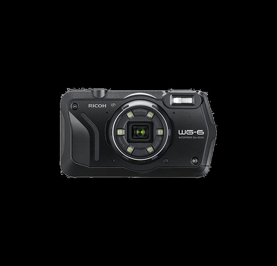 リコー RICOH WG-6 防水カメラ ブラック  水中カメラ/防水カメラレンタル