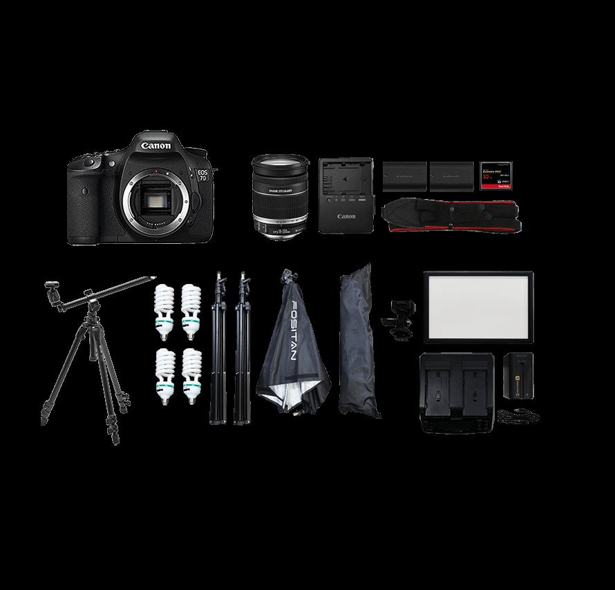 成人式 撮影カメラセット レンタル