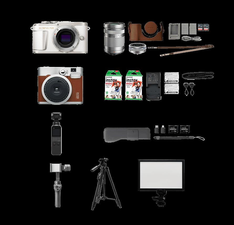 #おうちでカメラセット