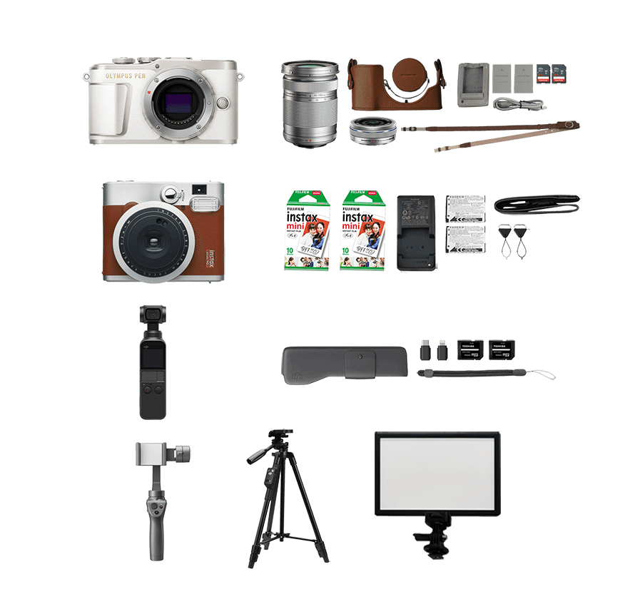 [レンタル] #おうちでカメラセット