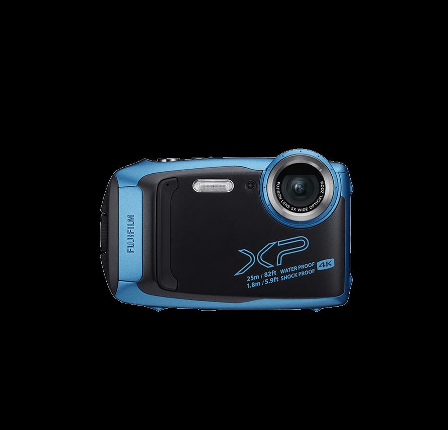 FUJIFILM FINEPIX XP140 ブルー 防水カメラレンタル