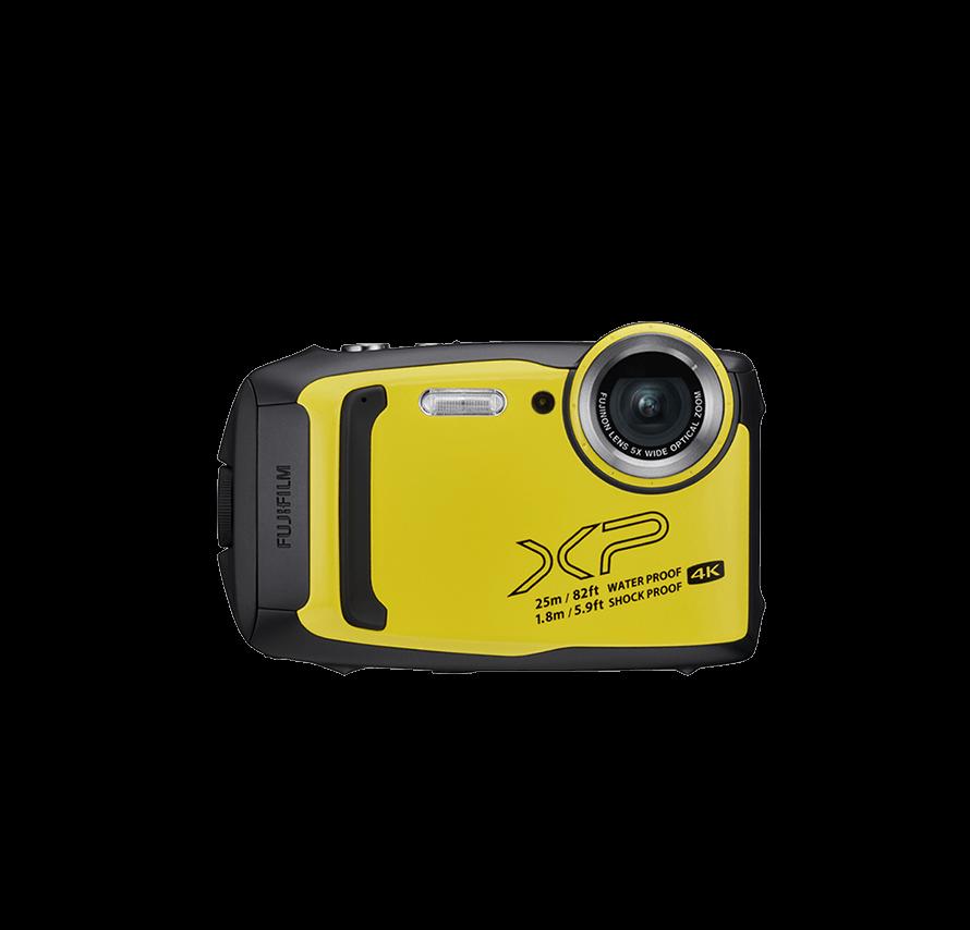 FUJIFILM FINEPIX XP140 イエロー 防水カメラレンタル