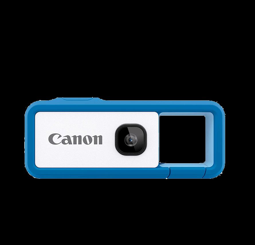Canon iNSPiC REC/ブルー|旅行に最適!GoToトラベル応援商品[カメラレンタル]