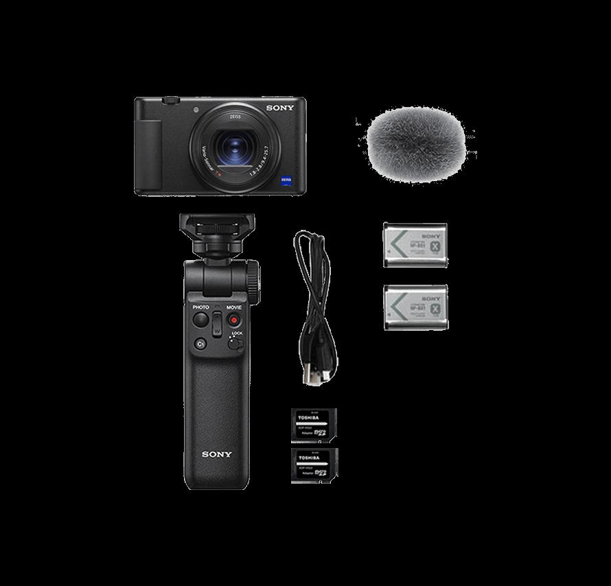 ソニー SONY VLOGCAM ZV-1G シューティンググリップキット vlogカメラレンタル