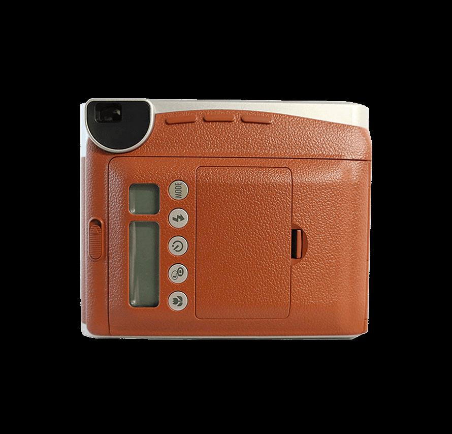 instax mini90 ネオクラシック フィルム20枚付き ブラウン チェキレンタル