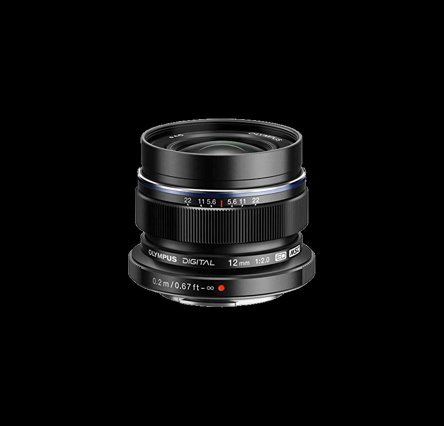 オリンパス OLYMPUS 単焦点レンズ M.ZUIKO DIGITAL ED 12mm F2.0 ブラック ED 12mm F2.0 BLK | レンズレンタル