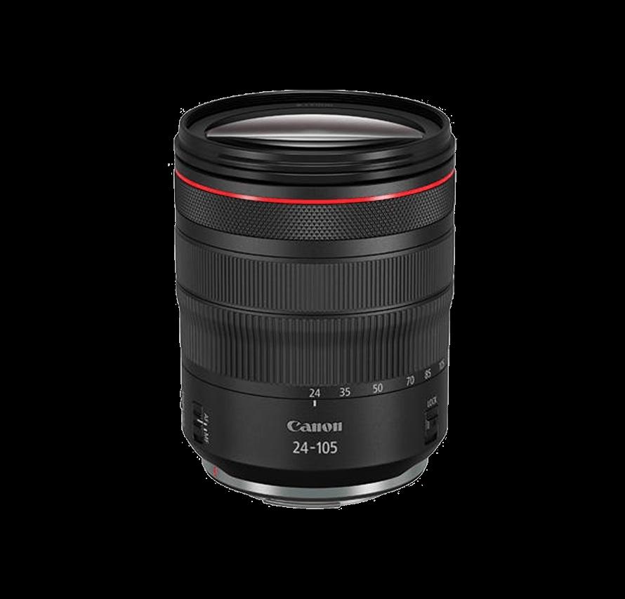 Canon RF24-105mm F4L IS USM 標準ズームレンズ   カメラレンズレンタル