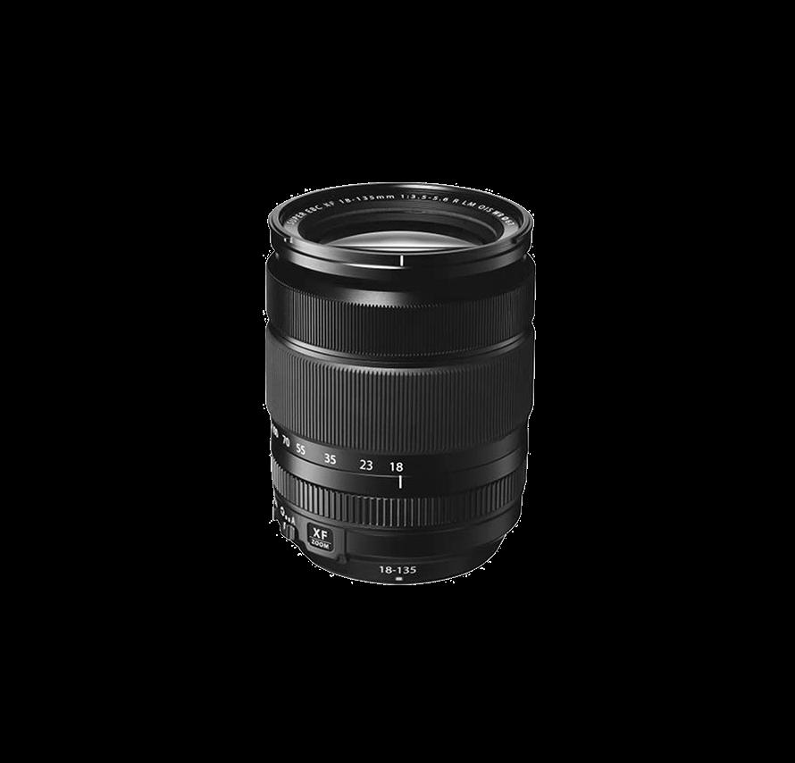 フジフィルム FUJIFILM FUJINON XF 18-135mm F3.5-5.6 R LM OIS WR 高倍率ズームレンズ   [レンズレンタル]