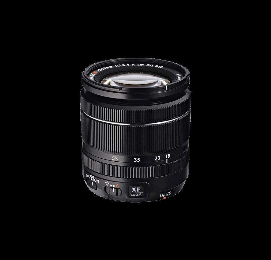 フジフィルム FUJIFILM FUJINON XF 18-55mm F2.8-4 R LM OIS 標準ズームレンズ   [レンズレンタル]