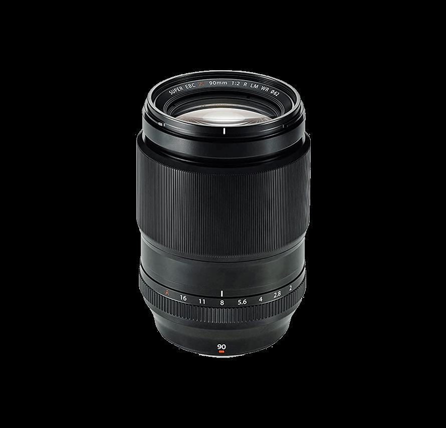 フジフィルム FUJIFILM FUJINON XF 90mm F2 R LM WR 単焦点望遠レンズ   [レンズレンタル]