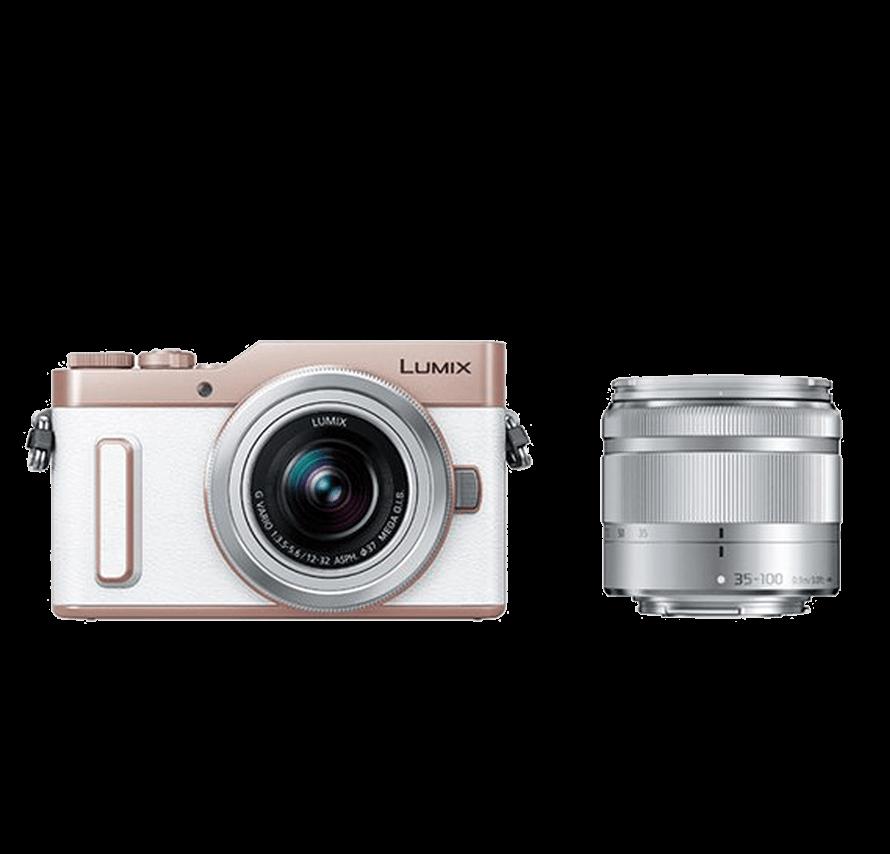 Panasonic LUMIX DC-GF10 標準&望遠レンズセット ホワイト カメラレンタル