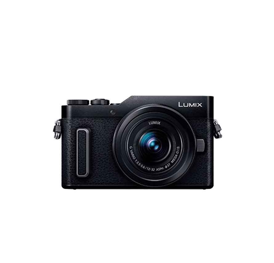 Panasonic LUMIX DC-GF10 標準&望遠レンズセット ブラック ミラーレス一眼カメラレンタル