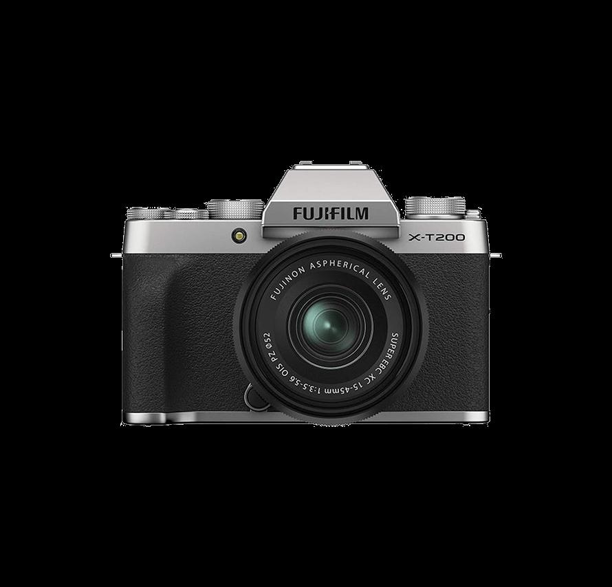 FUJIFILM X-T200 ボディ / シルバー|ミラーレス一眼カメラレンタル