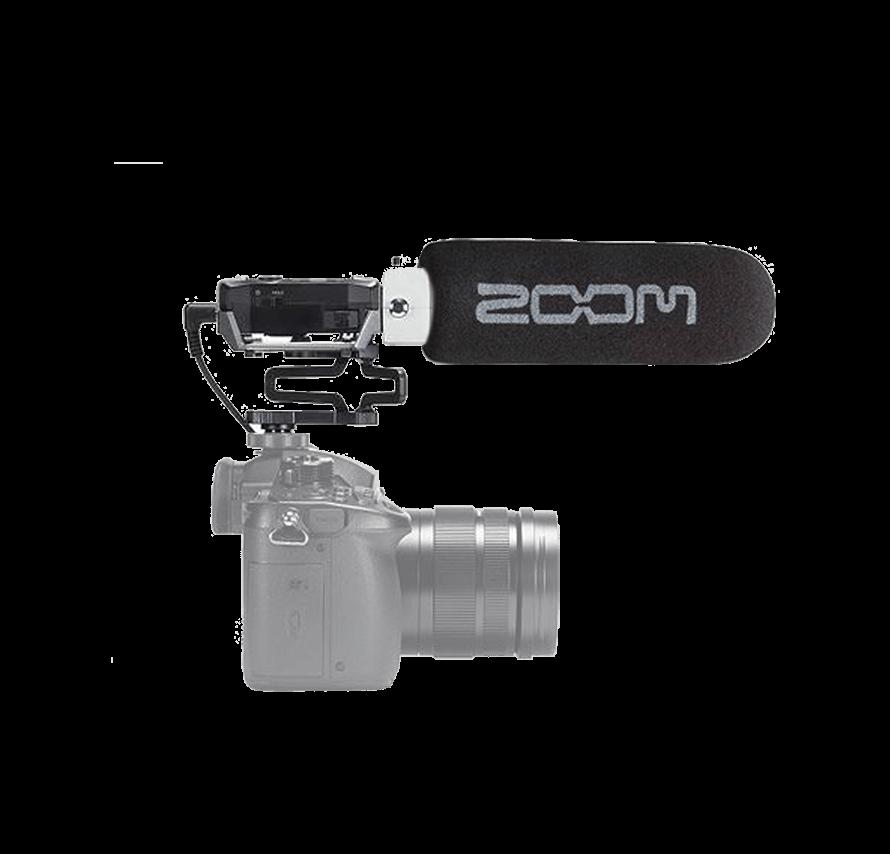 ズーム ZOOM F1-SP ショットガンマイク セット マイクレンタル