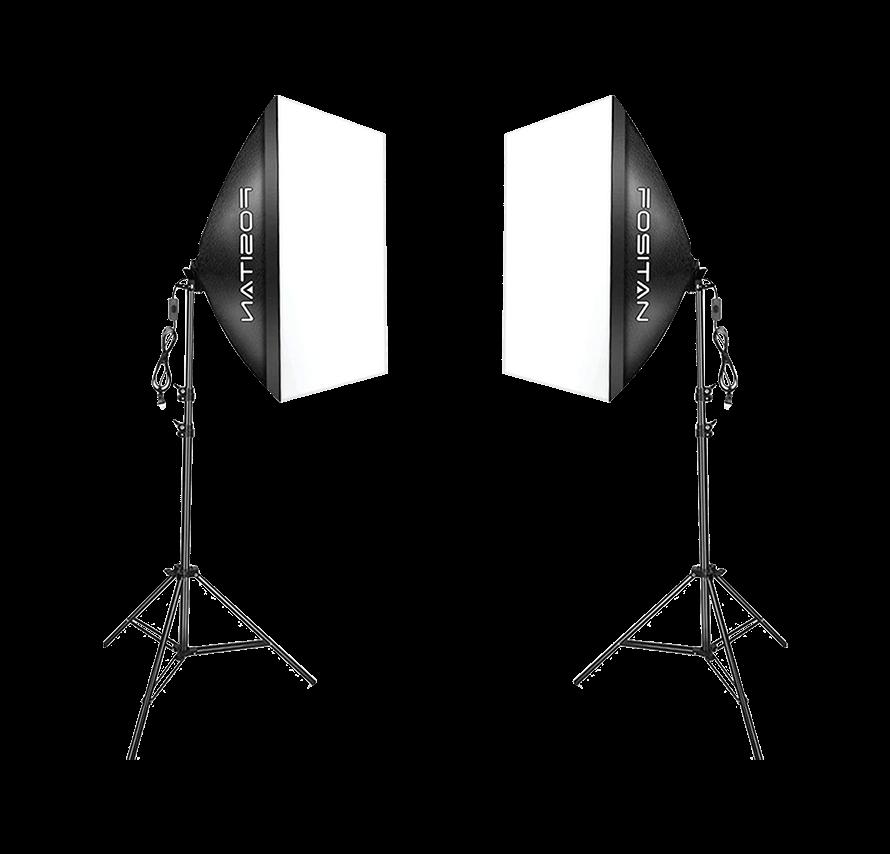 [レンタル] ソフトボックス写真用照明キット