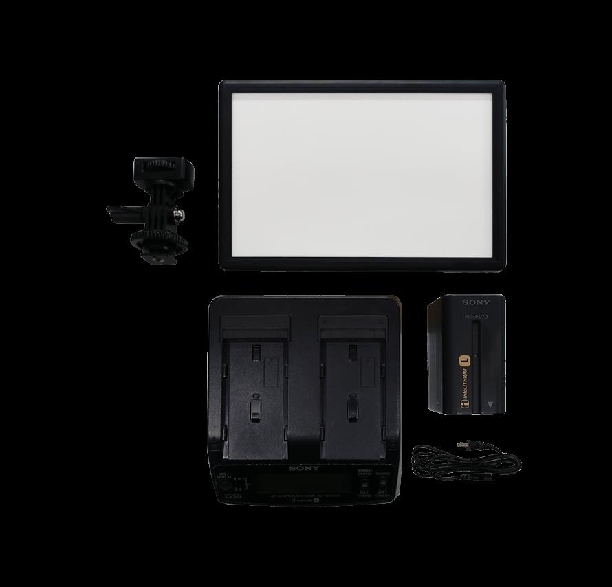 LED ビデオライト 超薄型LEDパネル 照明機材レンタル