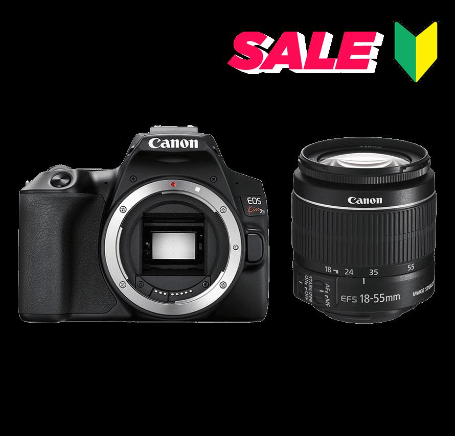 Canon EOS Kiss X10レンズキット|一眼レフカメラレンタル