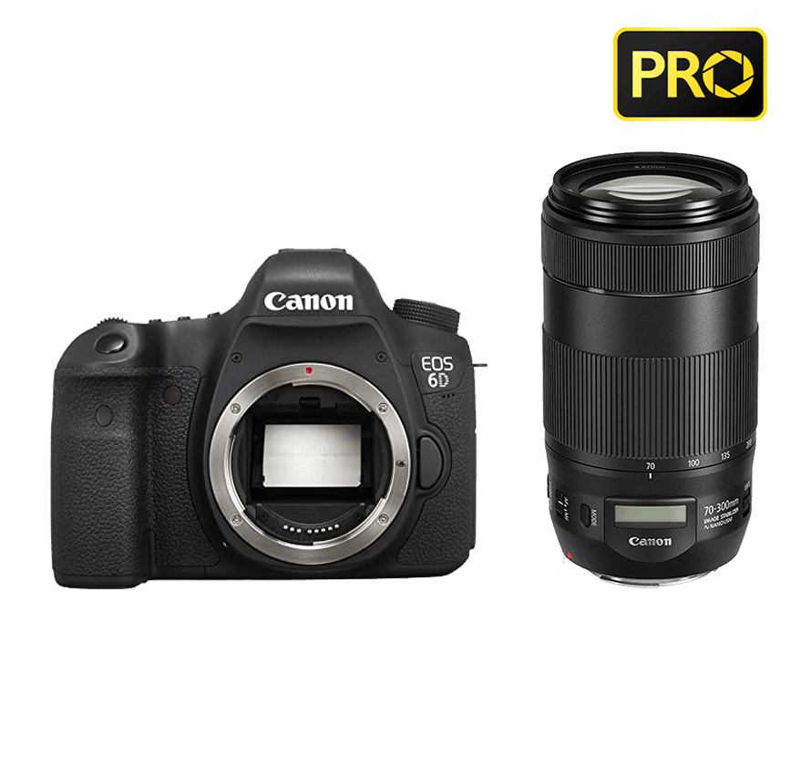 Canon EOS 6D 望遠レンズセット|一眼レフカメラレンタル