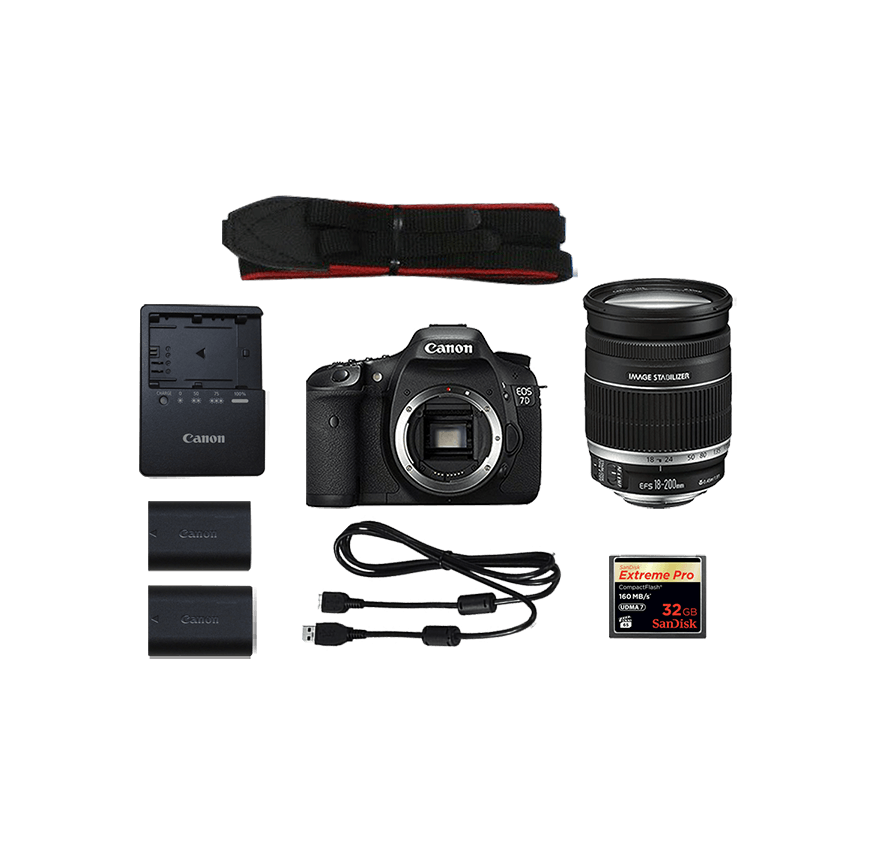 Canon EOS 7D広角望遠レンズセット