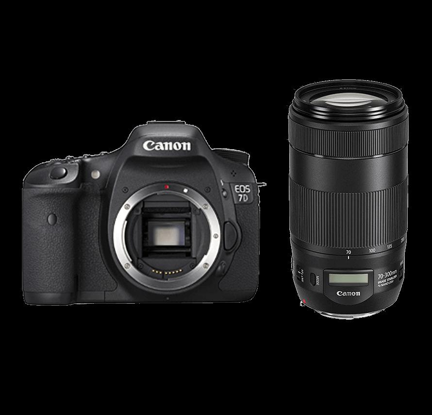 キャノン Canon EOS 7D 望遠レンズセット|一眼レフカメラレンタル