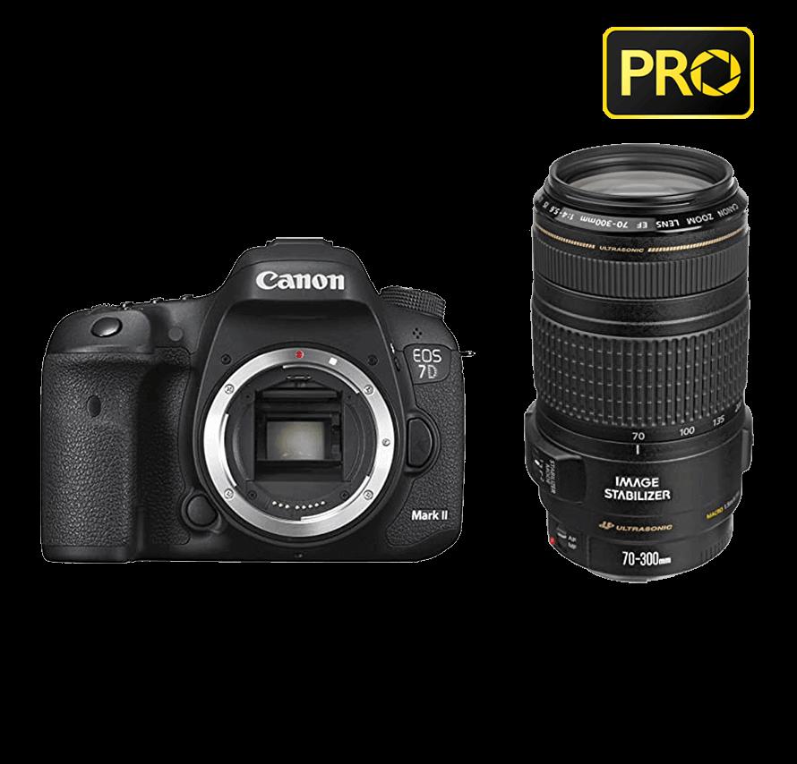 Canon EOS 7D Mark II 望遠レンズセット|一眼レフカメラレンタル