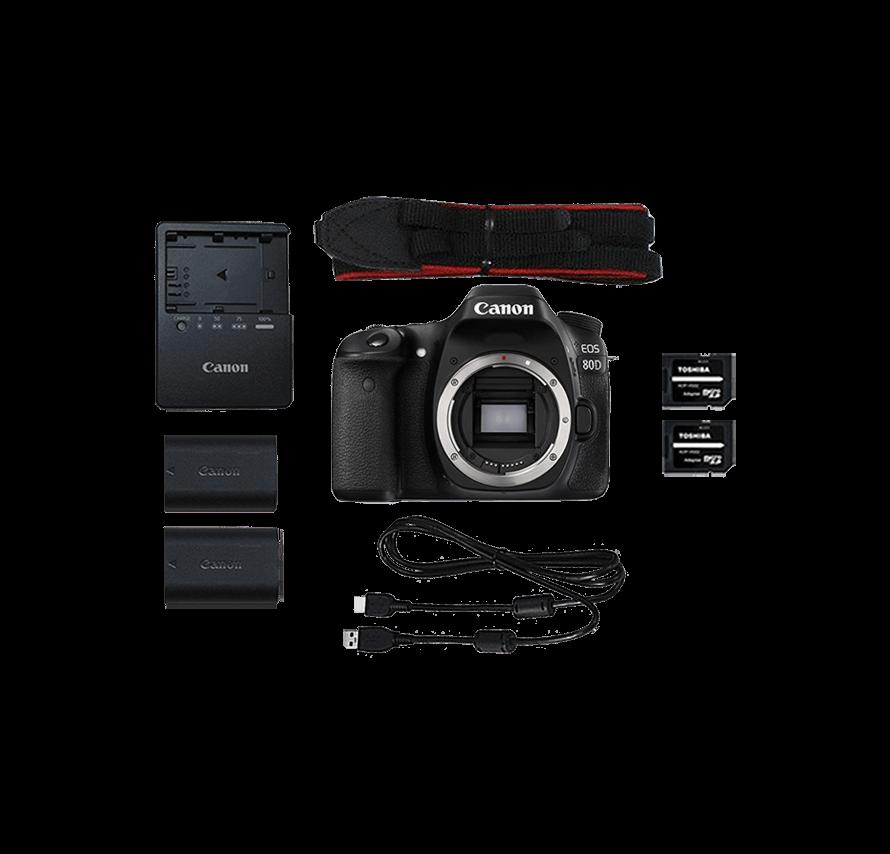 Canon EOS 80D ボディ 一眼レフカメラレンタル