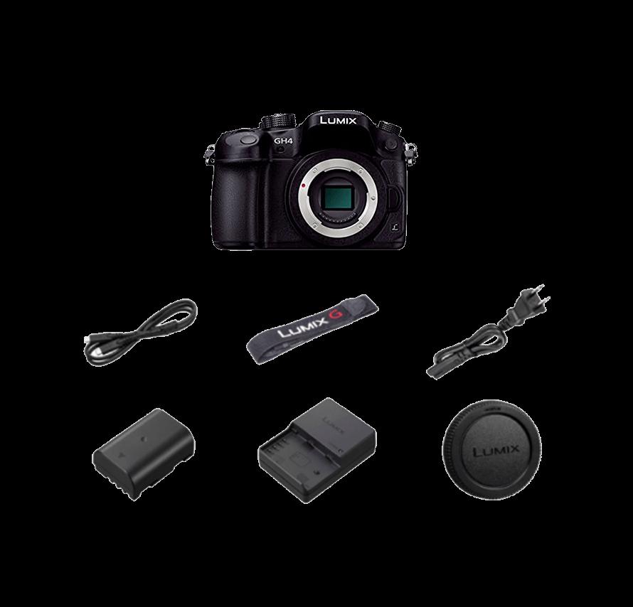Panasonic LUMIX DMC-GH4   一眼レフカメラレンタル