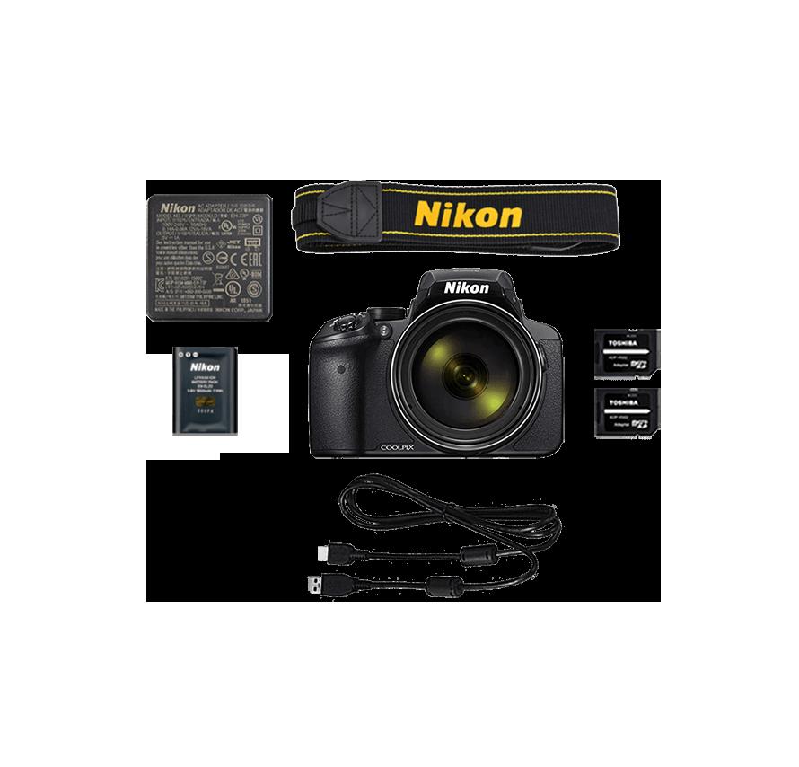 ニコン Nikon COOLPIX P900 三脚セット デジタルカメラレンタル