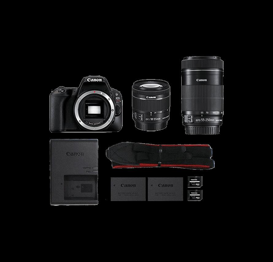 Canon EOS Kiss X10 ダブルズームキット 一眼レフカメラレンタル