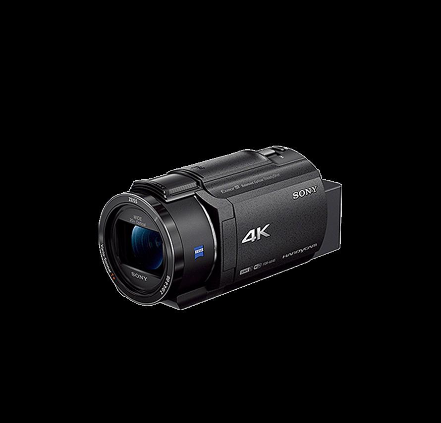 ソニー SONY FDR-AX45 三脚セット ブラック ビデオカメラレンタル