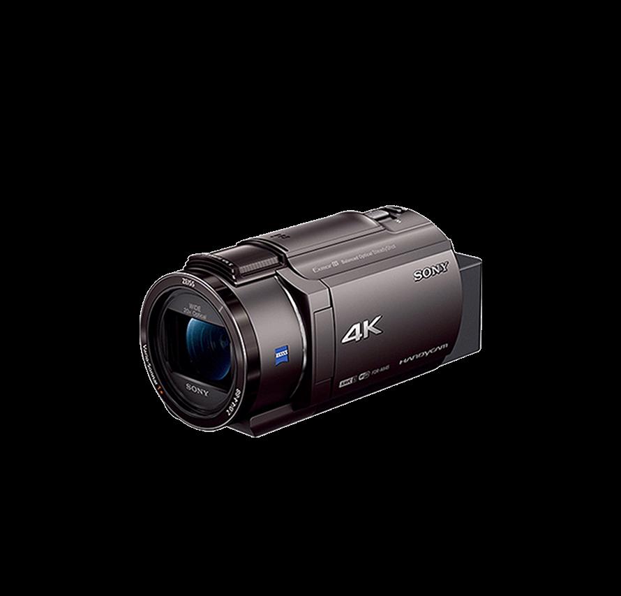 SONY FDR-AX45 三脚セット ブラウン ビデオカメラレンタル
