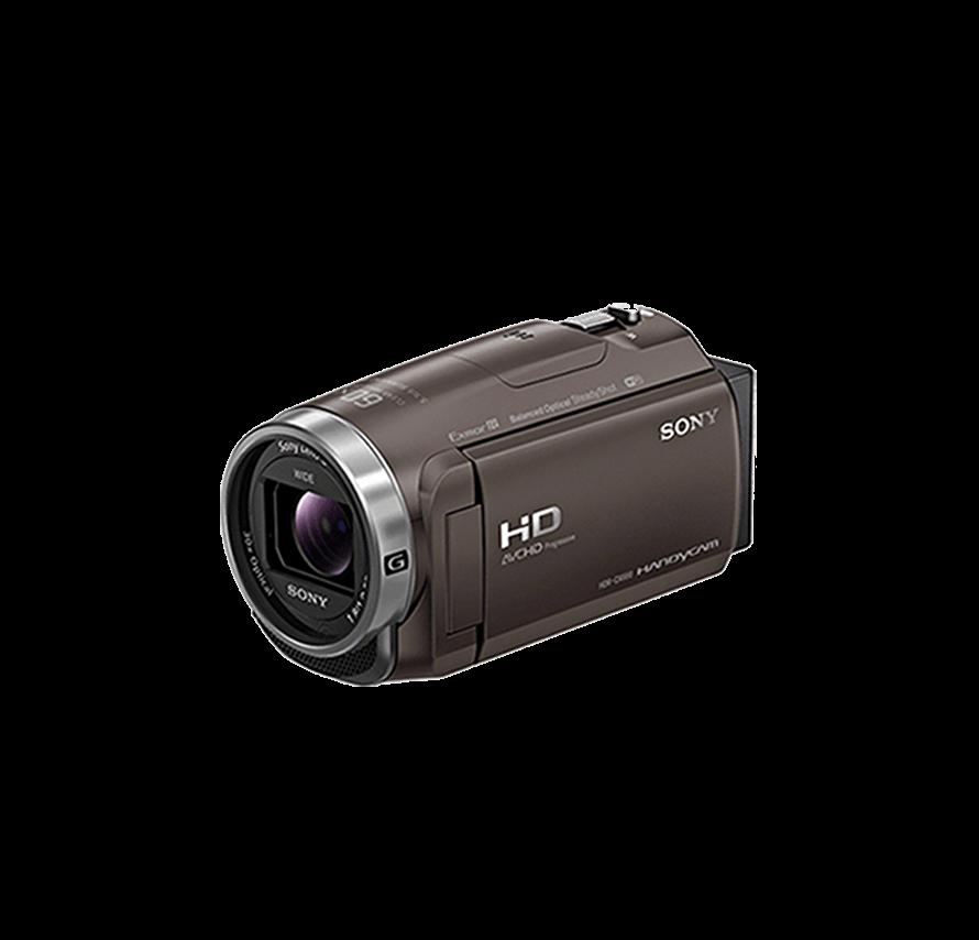 ソニー SONY HDR-CX680 三脚セット ブラウン ビデオカメラレンタル