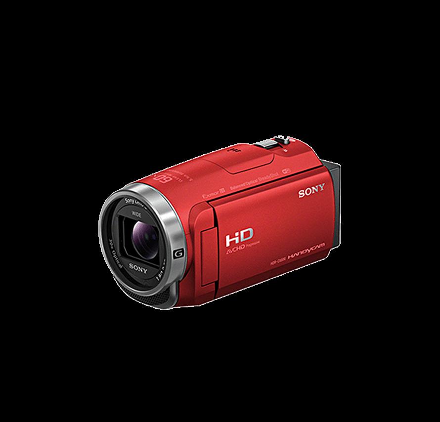 [レンタル] SONY HDR-CX680 三脚セット/レッド