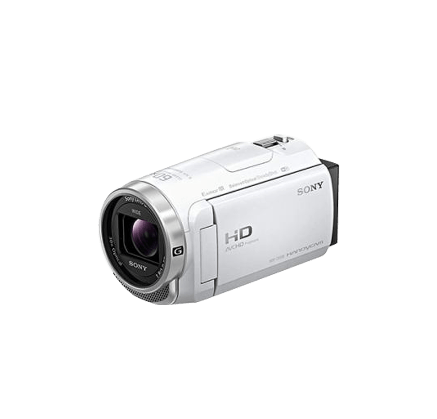 SONY HDR-CX680 三脚セット ホワイト ビデオカメラレンタル