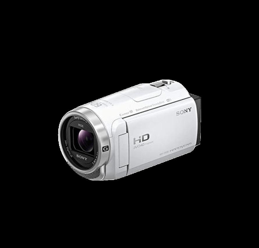ソニー SONY HDR-CX680 三脚セット ホワイト ビデオカメラレンタル