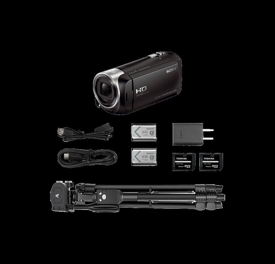 ソニー SONY HDR-CX470 三脚セット  | ビデオカメラレンタル